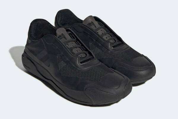 プラダ×アディダスのコラボスニーカー「A+P ルナ・ロッサ 21」にグレー&ブラックの新色