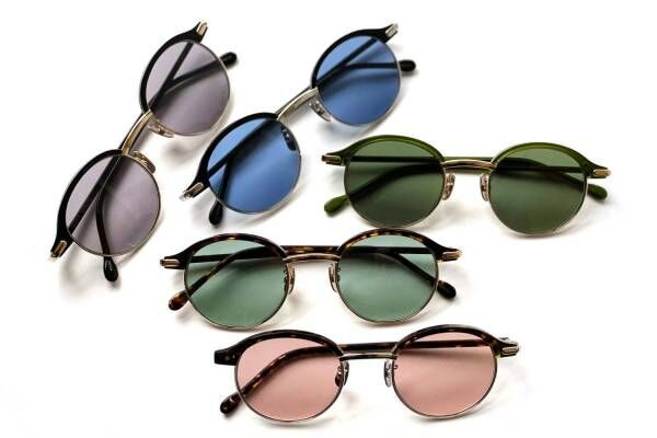 "Scye新アイウェア、クラシックな丸型×カラフルレンズ""世界一""の眼鏡店グローブスペックスとコラボ"