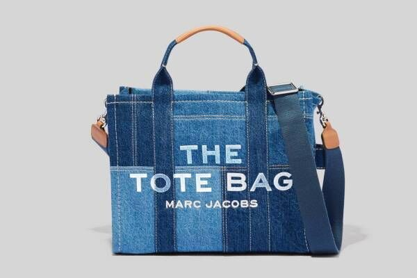 マーク ジェイコブス「ザ トート バッグ」デニム素材の新作、風合い豊かなパッチワーク仕様