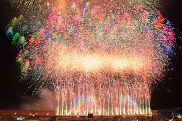 花火大会「三陸花火競技大会」岩手・陸前高田で、ミュージックスターマインなど2021年国内最大級規模