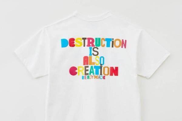 レディメイド×エストネーション、細川雄太の限定グラフィック入りカラフルTシャツ&ショーツ