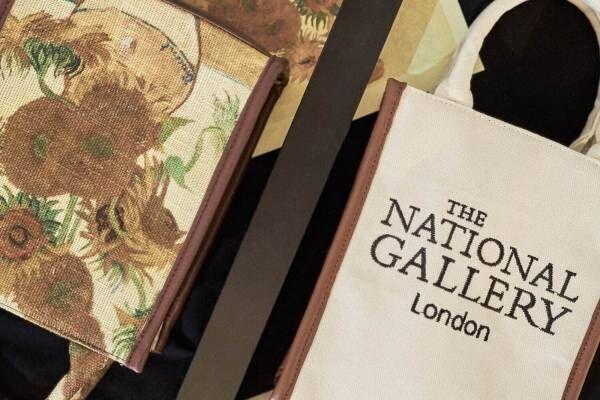 リリー ブラウンからゴッホやモネの名画Tシャツ&バッグ、ロンドン・ナショナル・ギャラリーと再びコラボ