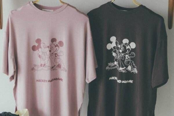 スナイデル ホームからディズニー「ミッキー&ミニー」のルームウェア&サテンリボンバッグ