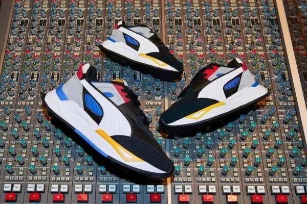 プーマの新作スニーカー、DJカルチャー着想の「プーマ ミラージュ スポーツ」をアップデート