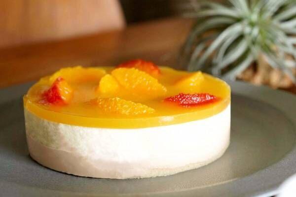 """フォルマ""""スペインの太陽""""をイメージした限定レアチーズケーキ、オレンジムースを2層重ねに"""