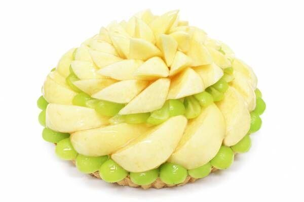"""カフェコムサの""""桃""""ケーキ - 甘くみずみずしい果肉を堪能、桃×マンゴーの限定パフェも"""