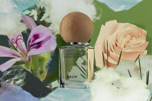 """バウムの新作オーデコロン、""""静寂の森で瞑想する香り""""と""""野花咲く天空の楽園の香り"""""""