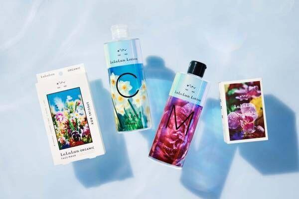 ルルルン×蜷川実花「M / mika ninagawa」の花模様スキンケア、芍薬香る化粧水など