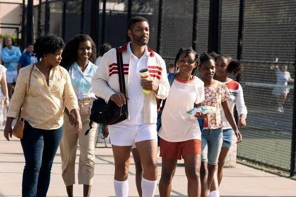 映画『ドリームプラン』ウィル・スミス主演、世界最強テニスプレーヤー姉妹を育てた父親の実話