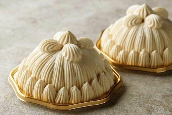 東京會舘「マロンシャンテリー」秋の月替わりフレーバー、洋梨&茶葉から風味を抽出したアールグレイ