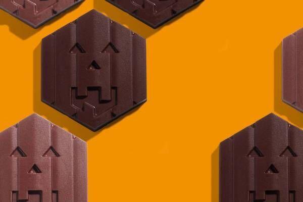 """ル・ショコラ・アラン・デュカスのハロウィン限定""""お化けかぼちゃ""""ショコラ、パンプキンプラリネ入り"""