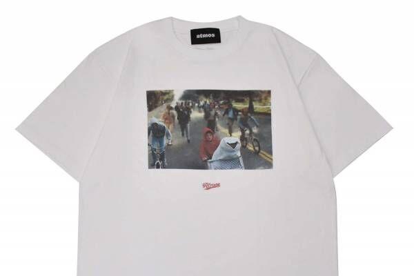 「E.T.」「チャッキー」のアトモス別注Tシャツ、名シーン&映画ロゴ入り