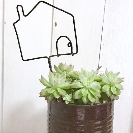 お庭に、プランターに、インテリアに!ステキなガーデンピックを手作りしよう