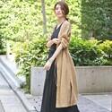 こなれ感のあるスタイルが叶う♡夏の羽織りは「ロングガウン」で決まり!