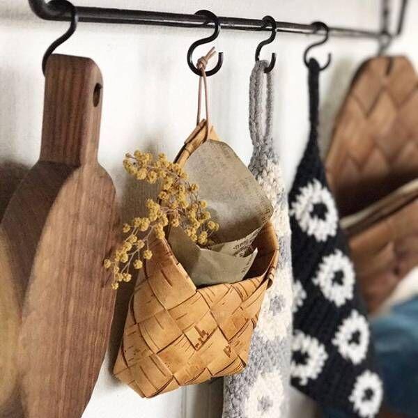 そっと置くだけでお部屋が北欧の雰囲気に☆【白樺】のカゴと雑貨をご紹介