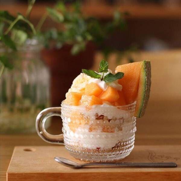 夏はガラスの器で涼しく、美しく。素敵なおうちカフェを堪能しましょう♪