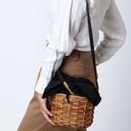 この夏持ちたい!かごバッグを使った今年らしいコーデ集