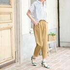 パンツスタイルはヒールで上品に見せる♡パンツ×ヒールの大人コーデ