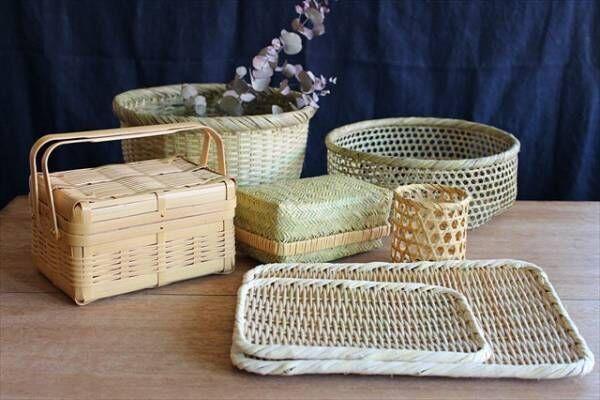 涼しげで使い勝手抜群♪どこか懐かしい竹細工アイテムをインテリアに