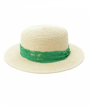 コーデに投入でセンスアップ!夏は《カンカン帽》でかわいく変身♡