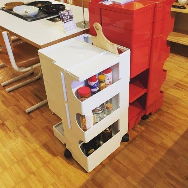素敵なワゴン特集!キッチンやリビングに移動可能な収納ワゴンを使いこなしましょう♪