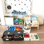子供が片付けやすいおもちゃ収納☆理想通りにいかない場合のアイディアもご紹介
