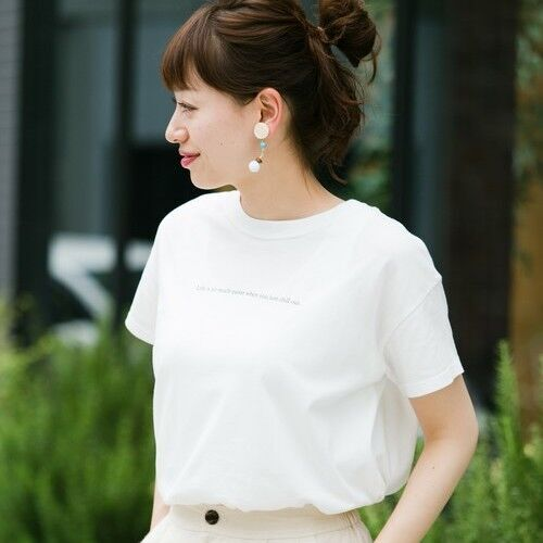 みんなの定番【白Tシャツ】☆子供っぽくならない着回し術とは!?