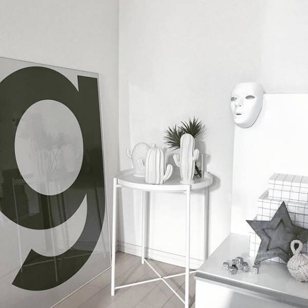 【IKEA】はモノトーンインテリアの強い味方☆スタイリッシュなお部屋を作ろう♪