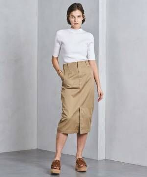 注目のチノスカートは大人カジュアルコーデのマストアイテム!フレア&タイトシルエット15選をご紹介