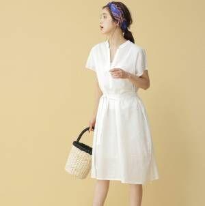 【白ワンピース】でさっぱりした夏コーデにトライ!大人っぽくすっきり着こなすコーデ術