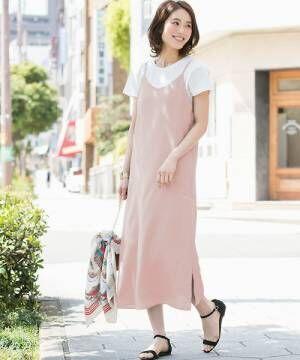 【プチプラ】なピンク・パープル・レッドワンピースで作る!デートにぴったりな大人可愛いコーデ特集