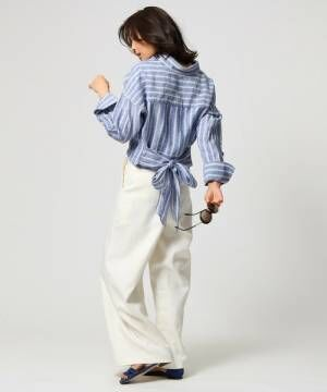 夏だからやっぱり着たい「リネン」♡清涼感たっぷりな大人女性コーデ15選