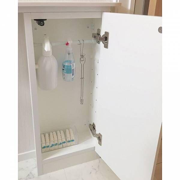 隠れたスペースもキレイにまとめて♪トイレの賢い収納術を教えちゃいます!