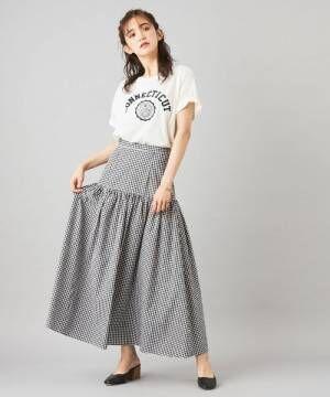 【ギンガムチェック・ドット・ストライプ】スカートは3つのトレンド柄で存在感を♡