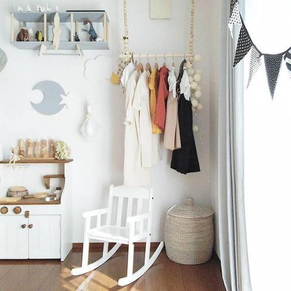 子供服収納メソッドを年代別にご紹介☆「自分で片づける」を引き出すアイデア!