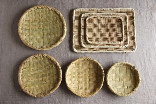 夏の暮らしに清涼感をプラス。おすすめの竹ざるラインナップ&みなさんの日常風景