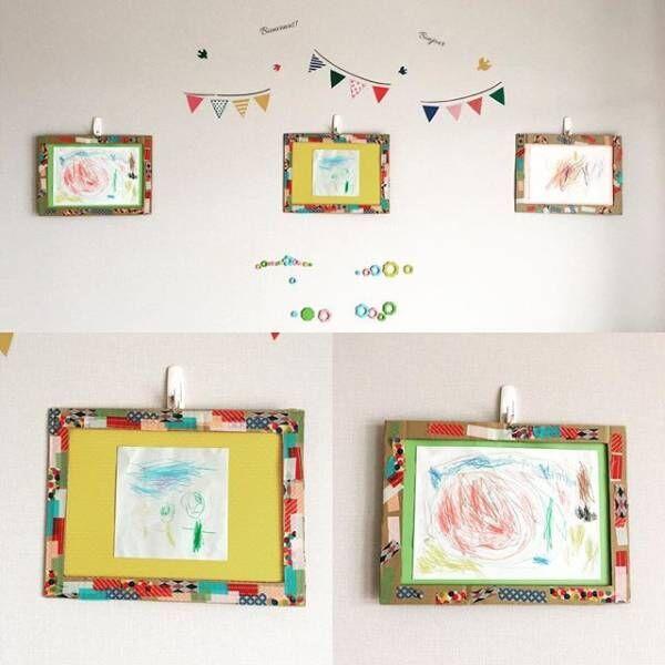 子どもの作品、どうしてる?作品の素敵な飾り方&収納アイデア
