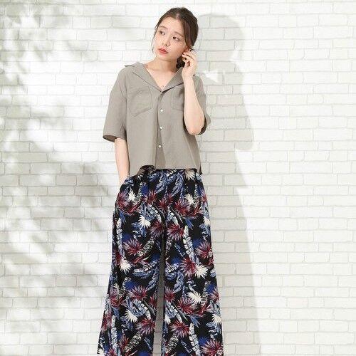 今着たい《開襟シャツ&ブラウス》の魅力♡着こなし例とともにご紹介します!