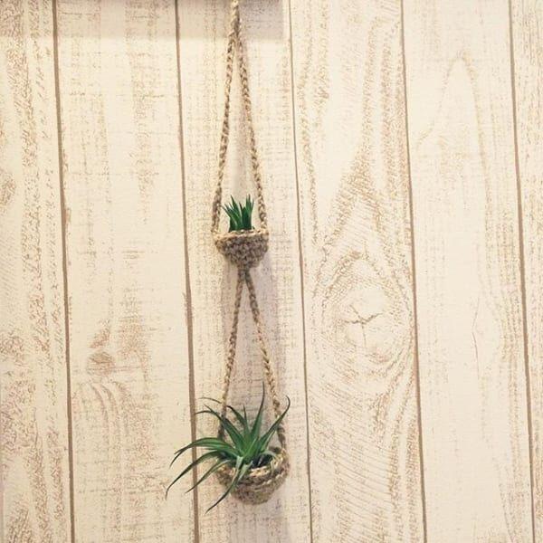 インテリアのアクセントに☆かぎ針編みで作るキュートな夏雑貨のご紹介
