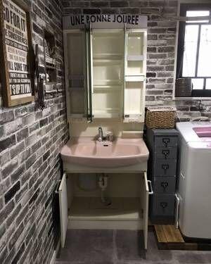 細かなスペースにもこだわりたい!インテリアにこだわった洗面台やDIYの実例集