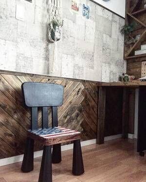 木材はデザインで遊ぶ!ヘリンボーンのある大人の空間