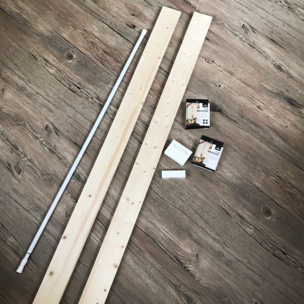 【連載】工具不要!ラブリコを使った簡単ブックスタンドの作り方♬
