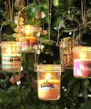 夏の宵はキャンドルを灯して過ごそう!おしゃれなキャンドルコーディネートをご紹介
