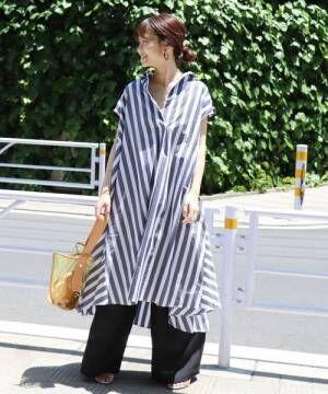 夏のワードローブで欲しい!気軽に着れるシャツワンピース15選