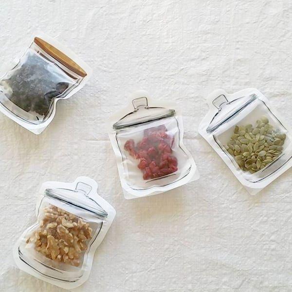 食品の保存やおすそ分けに♡100均のジッパーバッグ活用アイディア