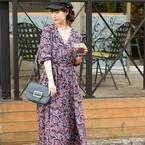 開襟デザインがトレンド♡レトロかわいいオープンカラーシャツ&ワンピをチェック♪
