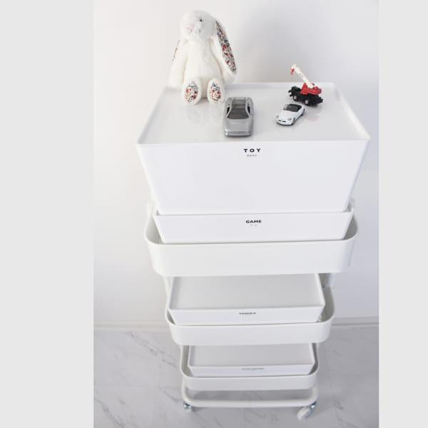 IKEAの便利なキャスターつきワゴン!RÅSKOG(ロースコグ)の真似したい活用法