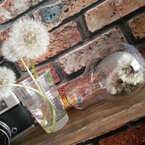簡単リメイクが楽しめる♪セリア電球型ボトルでインテリア雑貨を作ってみよう