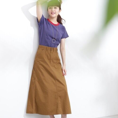 新おしゃれアイテム発見!いま大人女子が着たい「チノスカート」15選