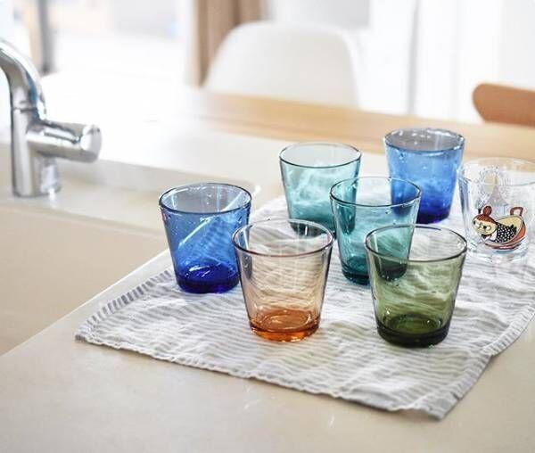 今年で発売から60周年のロングセラー♪【イッタラのカルティオ】グラスで彩る日常のテーブル風景